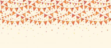 Christmas Textured Flags Seamless Pattern Horizontal Background