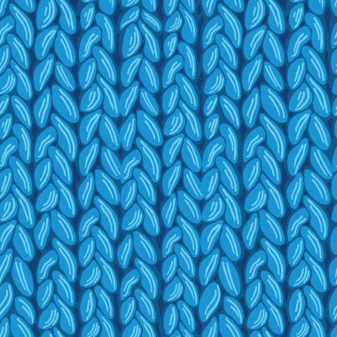 Knit sewater fabric seamless pattern texture