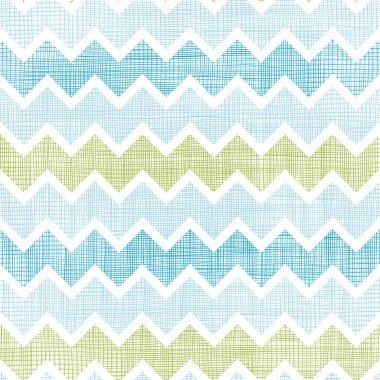 Fabric textured chevron stripes seamless pattern background