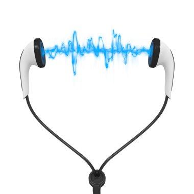 Blue wave audio earphones