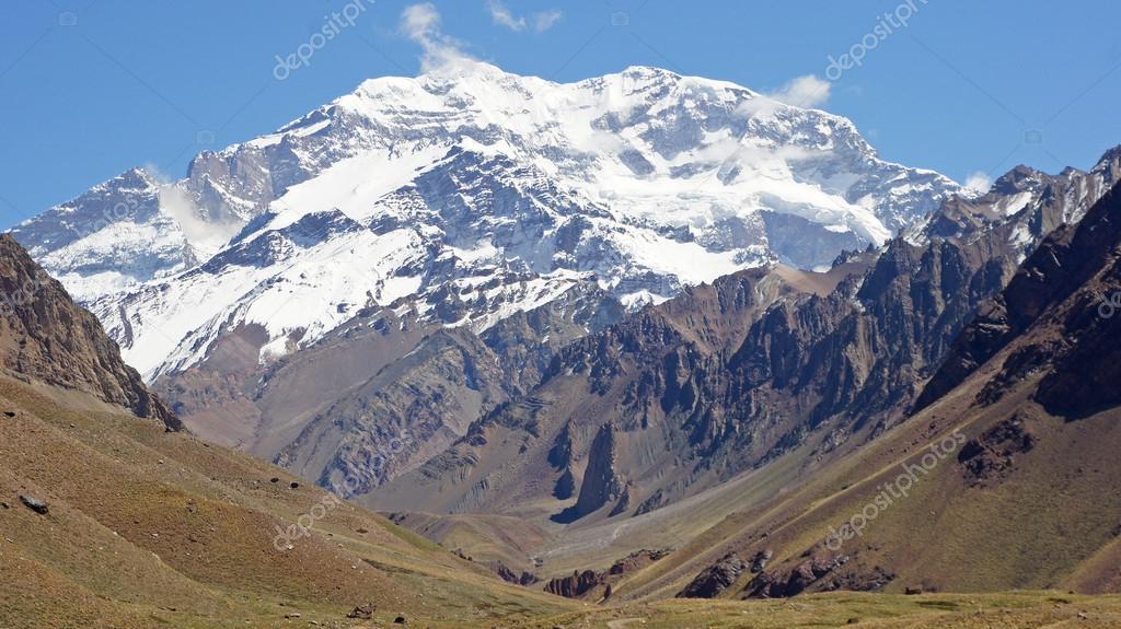 Aconcagua national parc, Andes Mountains, Argentina