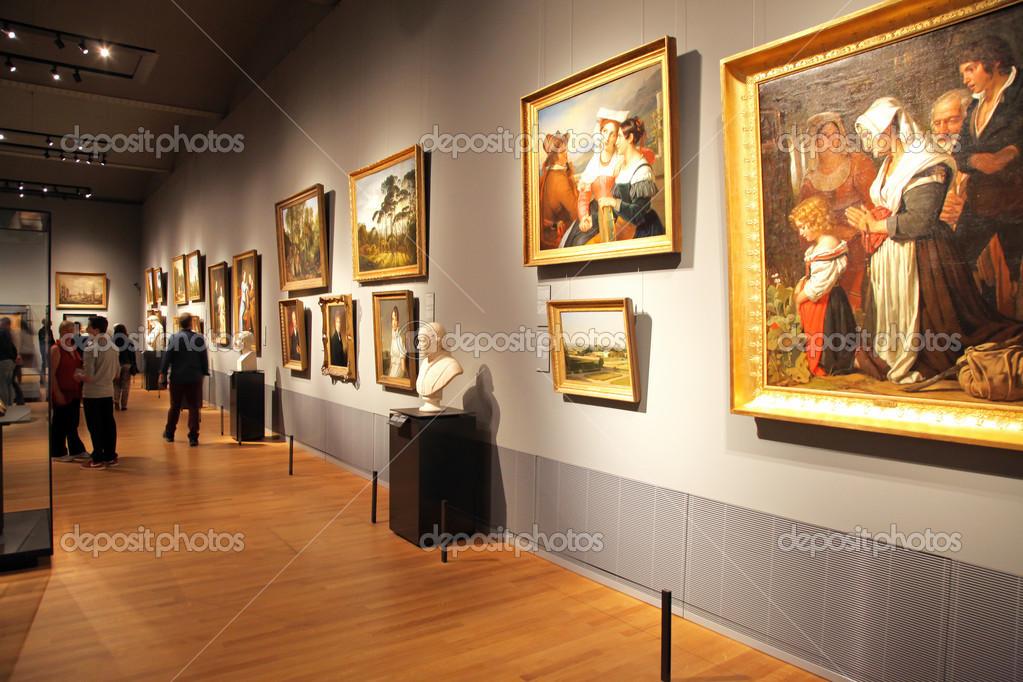 interieur van het rijksmuseum in amsterdam, Nederland – Redactionele ...