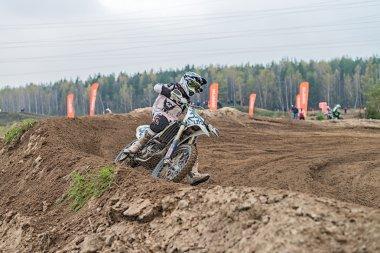 Motocross, Ramenskoe, Russia.