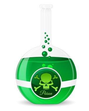 Poison Potion Vector Illustration