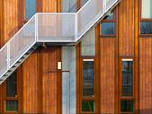 moderní dřevěná fasáda