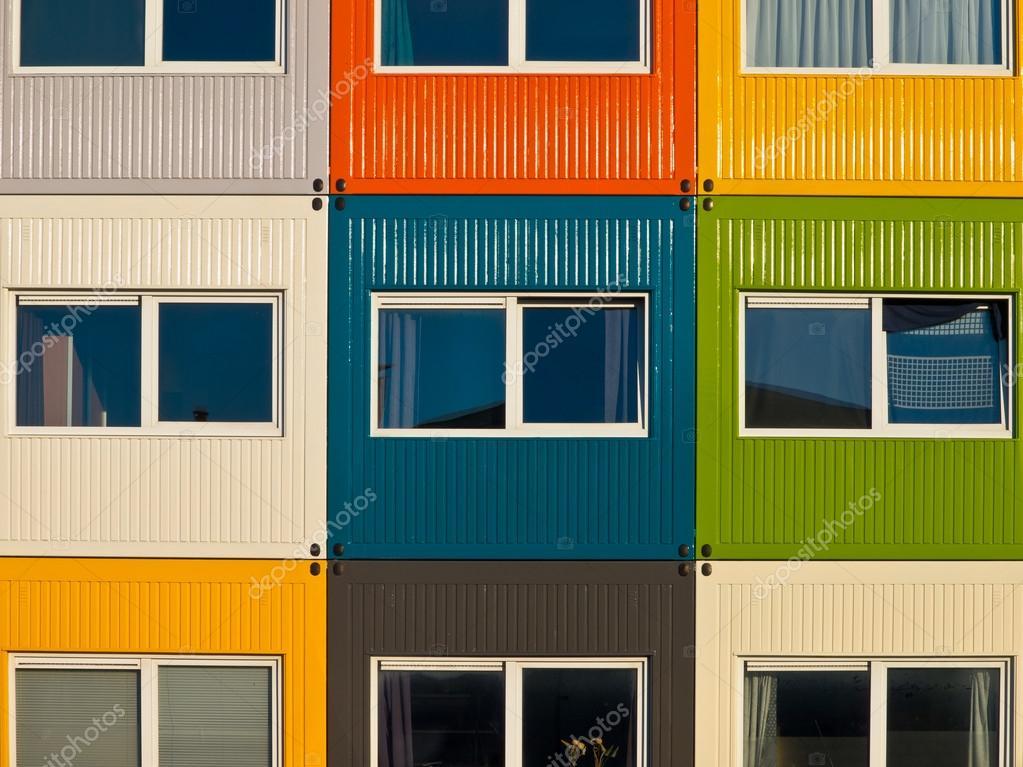 Container Wohnungen fracht container wohnungen stockfoto creativenature 14707779