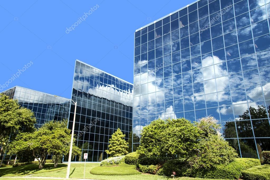 Modern building in Orlando Florida