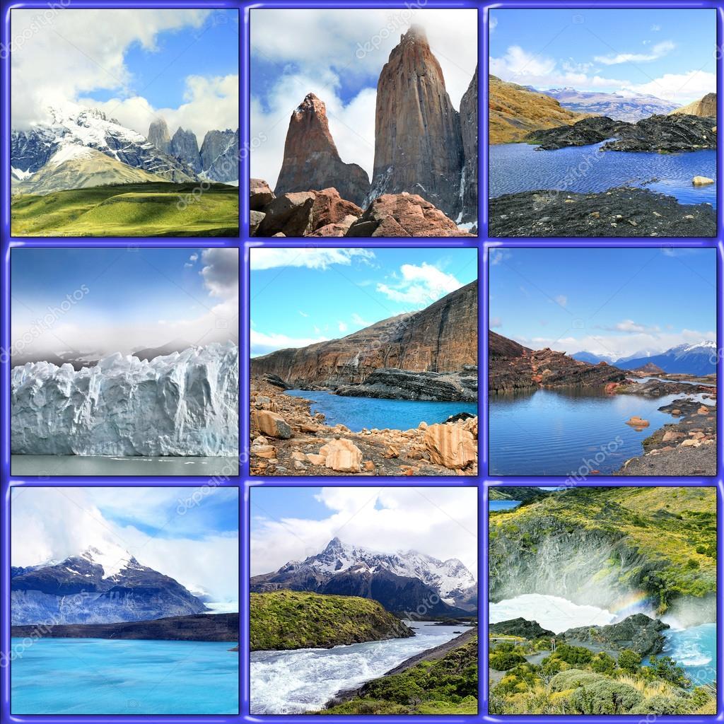 Perito Moreno Collage, Argentina , Patagonia