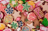 Zdobené vánoční cukroví