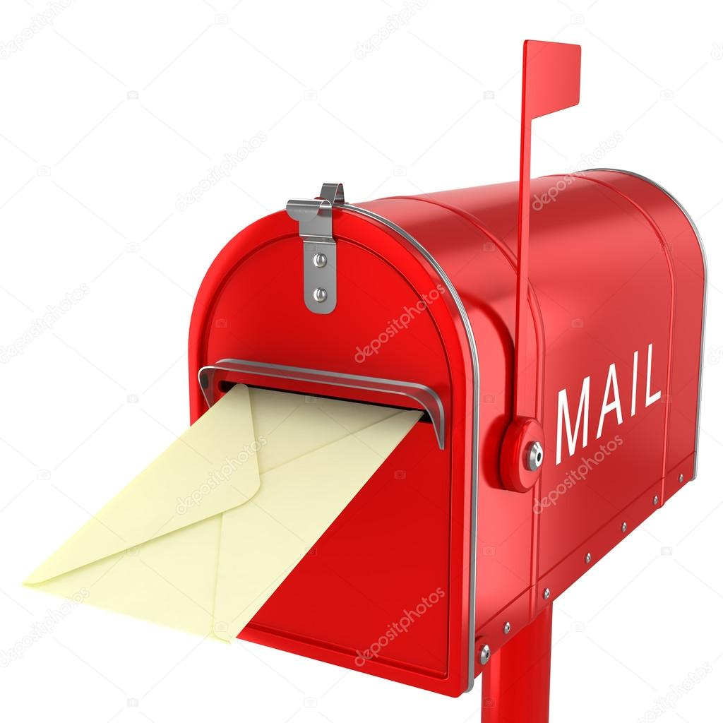 Send Letter In Mailbox Stock Photo C Aleksanderdnp 43159181