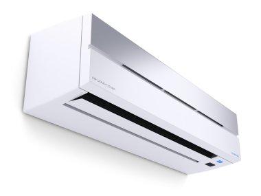 Modern air conditioner 3D