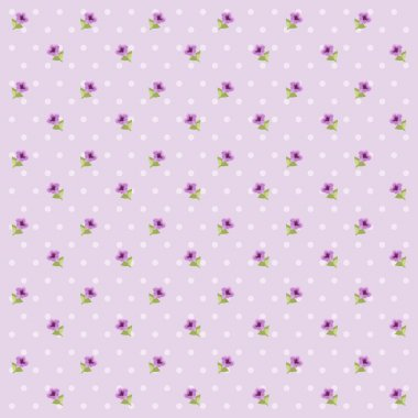 Retro floral pattern 2