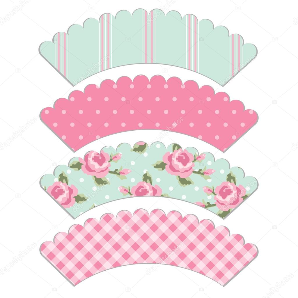 Baby Blue Cake Cases