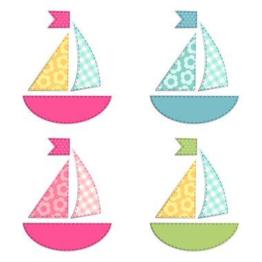 ships fabric applique