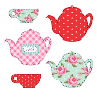 Kitchenware for tea party