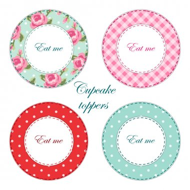 Tea labels,cupcake toppers