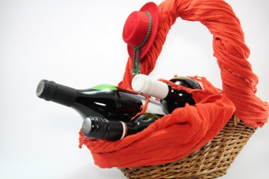 Red Wine Arrangement.