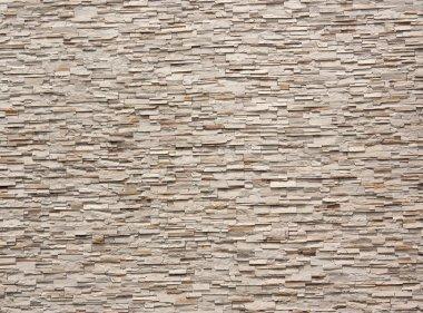 Stone wall tiles.