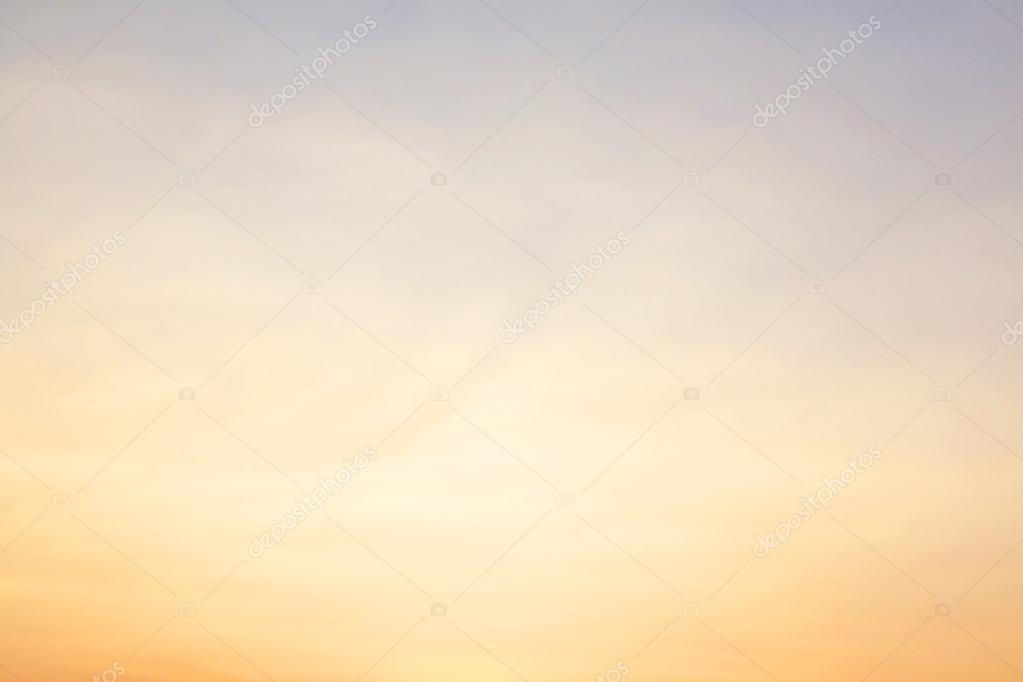 background color of the sky before sunset orange