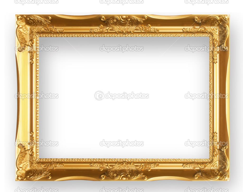Antik Goldrahmen — Stockfoto © scenery1 #42895249