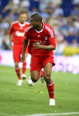 Ryan Babel, Dutch player of Liverpool FC