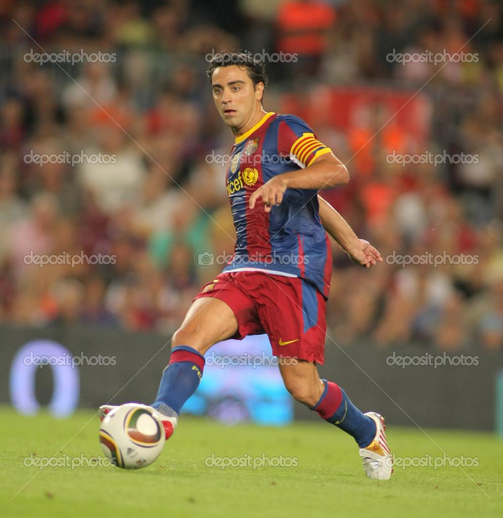 Xavi Hernandez of Barcelona – Stock Editorial © Maxisports