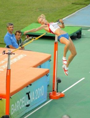 Svetlana Shkolina of Russia
