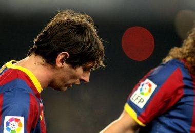 Messi Barcelona İspanya Kupası sırasında