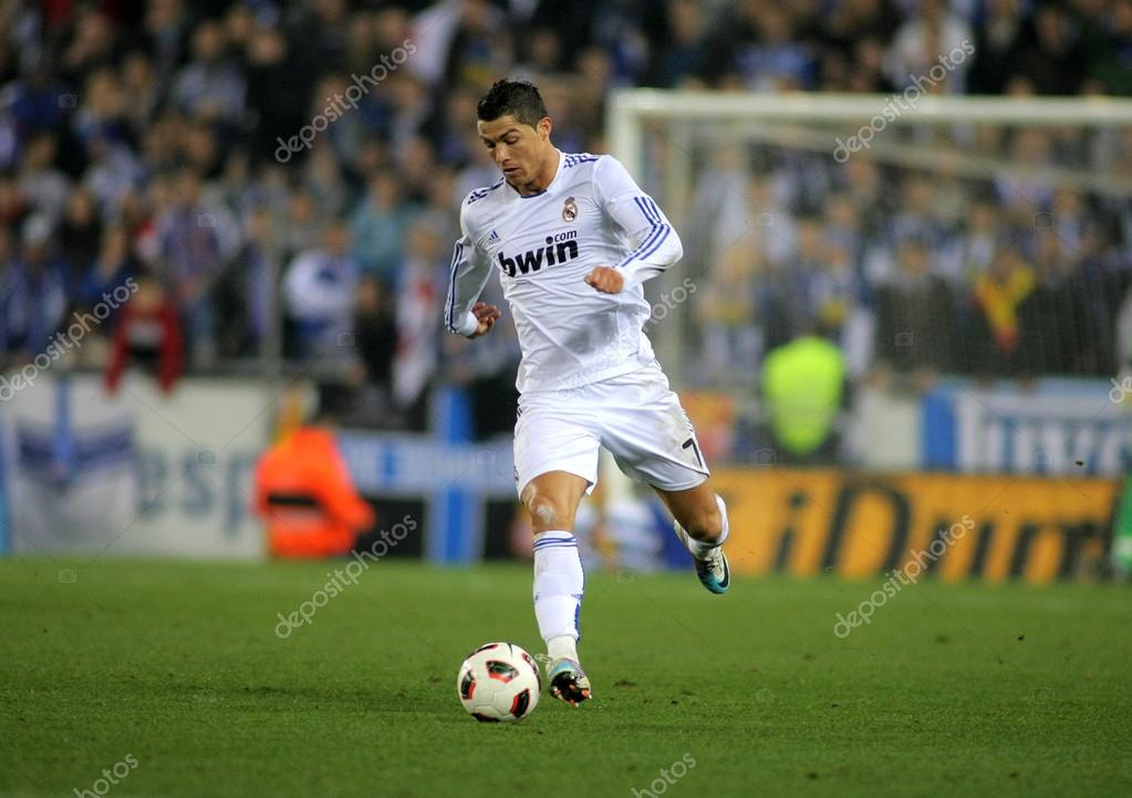 69dc5af22 Cristiano Ronaldo of Real Madrid during a spanish league match between  Espanyol and Real Madrid at the Estadi Cornella on February 13