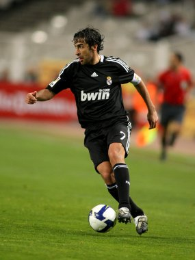 Raul Gonzalez of Real Madrid