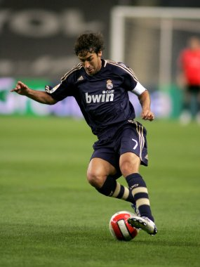 Raul Gonzalez of Real Madrid