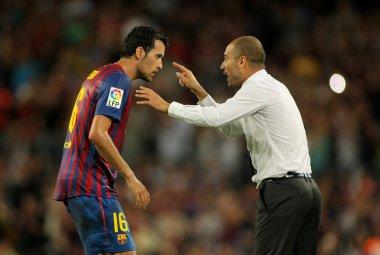 Guardiola eğitmen fc Barcelona