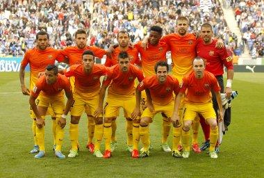 FC Barcelona lineup