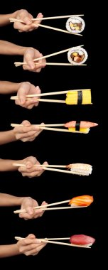 Sushi ready to eat