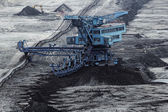 Photo Coal mining in an open pit