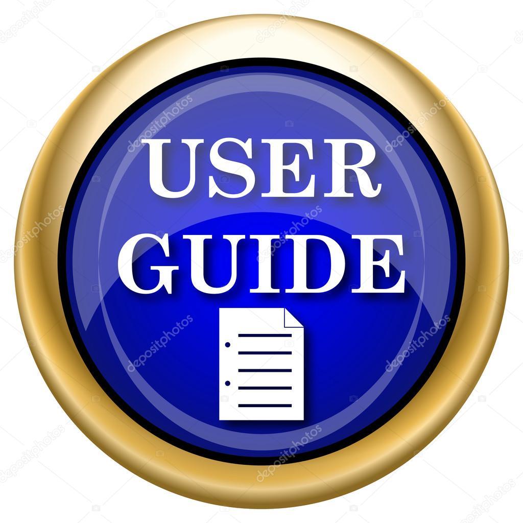 User Guide Icon  U2014 Stock Photo  U00a9 Valentint  33338541