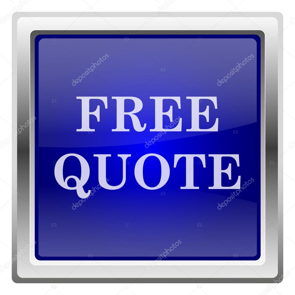 Free Quote Free Quote Icon  Stock Photo © Valentint 38285127
