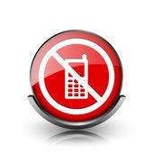 mobilní telefon s omezeným přístupem ikona