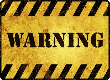 Warning Sign stock vector