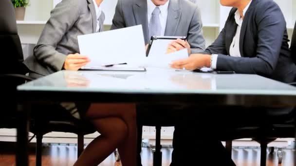 Kavkazská podnikatel úspěšný tým setkání