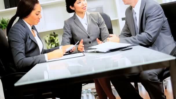 Multi Ethnic Business Team Client Meeting