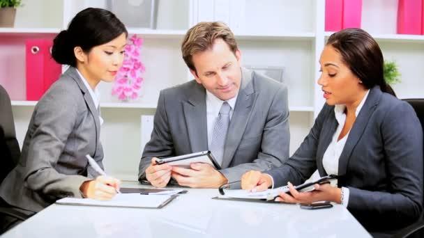 muž běloch obchodní tým vůdce setkání