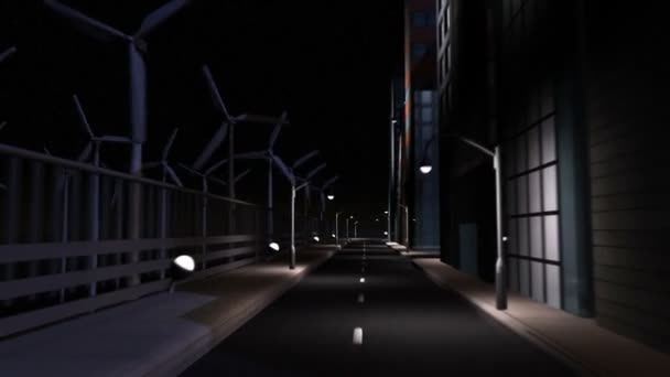 CG Concept City Clean Energy Lighting
