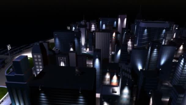 CG Clean Energy Powered City Selective Lighting
