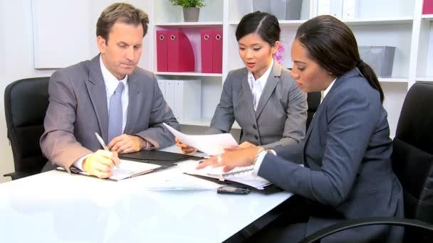 ženské asijské čínský přední obchodní tým