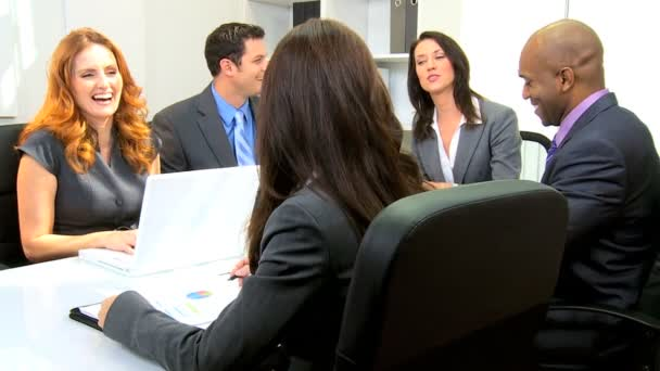 Multi Ethnic Boardroom Business Meeting