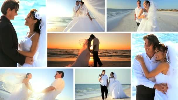 Montázs Sunset Beach esküvői