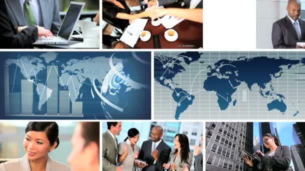 Global Business Montage Digital Images, USA