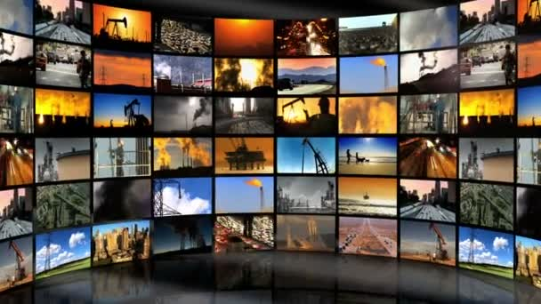 Montage Images Environmental Pollution, USA