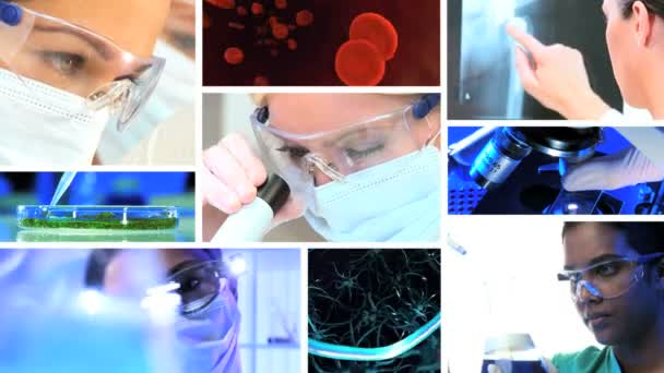 Montage Medical Research Lab Equipment CG Graphics